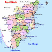 Tamilnadu Districts