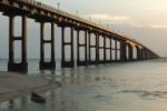 Pamban road bridge