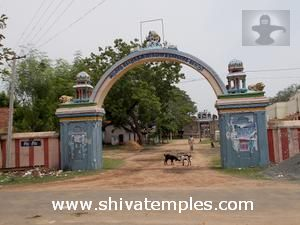 Tirukottur temple entrance